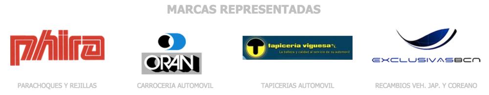 Marcas representadas por Alberto Herrera