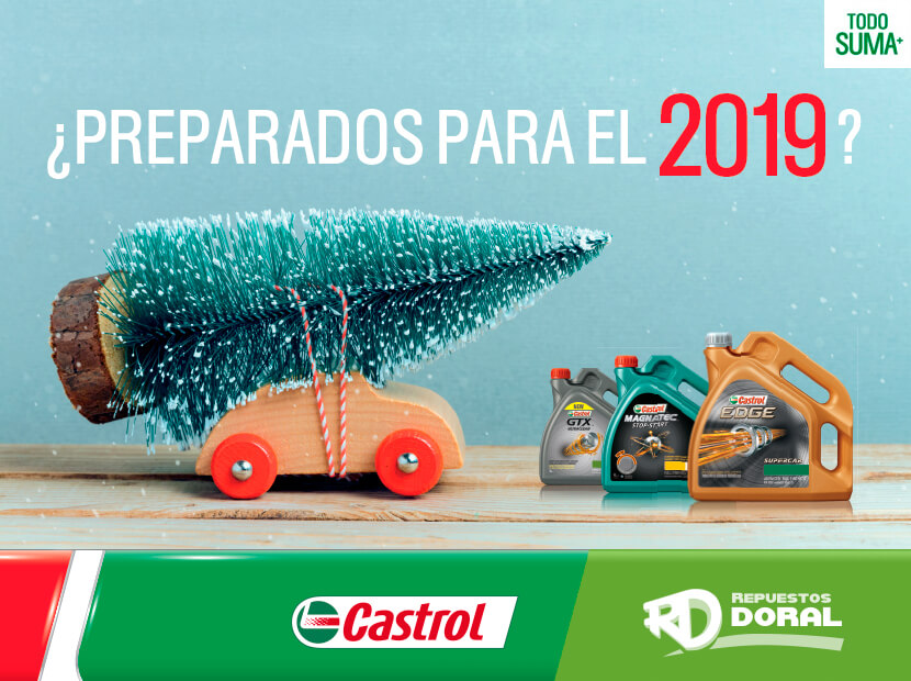 Catalogo navidad Castrol 2019